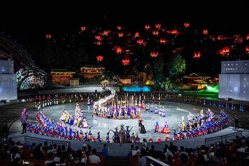 苗族文化盛宴《西江盛典》回归公演